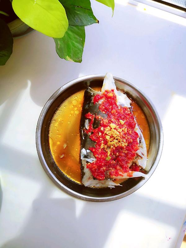 剁椒~鱼头的做法
