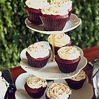 红丝绒cupcake的做法图解17