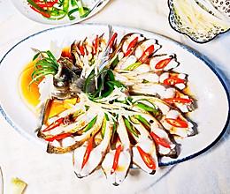 清蒸孔雀开屏武昌鱼#钟于经典传统味#的做法