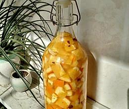 橙子酒的做法