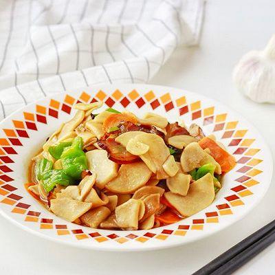 蒜香腊肉杏鲍菇|下饭利器快手菜