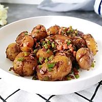 #做道懒人菜,轻松享假期#酱烧土豆仔的做法图解11