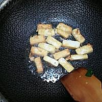 香菇油菜炒豆腐#花10分钟,做一道菜!#的做法图解7