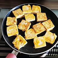 #味达美名厨福气汁,新春添口福#丝瓜脆皮豆腐的做法图解3