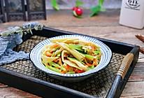 芹菜炒腐竹的做法