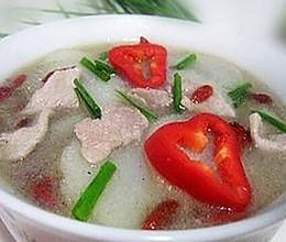山药枸杞子汤的做法