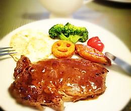 家庭自制牛排——利仁电火锅试用菜谱的做法