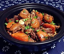 胡萝卜羊肉煲#肉肉厨的做法