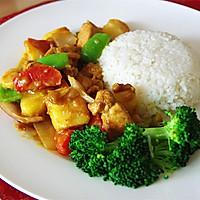 营养快手菜--咖喱鸡肉饭的做法图解8