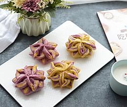 彩色花式豆沙包的做法