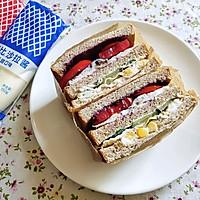 田园早餐三明治的做法图解7