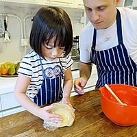 【老皮的亲子厨房】三岁孩子也能独立完成的爱心曲奇的做法图解4