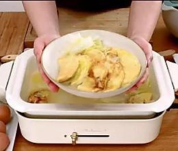 姜丝白菜煨蛋饺的做法