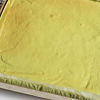 抹茶棉花蛋糕卷#春天里的一抹绿#的做法图解15