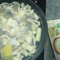 花蛤菌菇豆腐汤的做法图解6