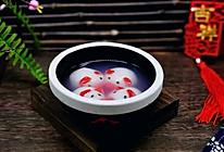 #新年开运菜,好事自然来#猪圆玉润芝麻汤圆的做法