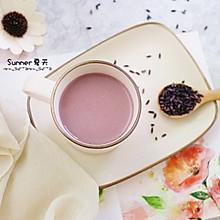 紫米花生芝麻糊#月子餐吃出第二春#