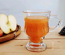 """#甜蜜暖冬,""""焙""""感幸福#独具风味的苹果胡萝卜热饮的做法"""