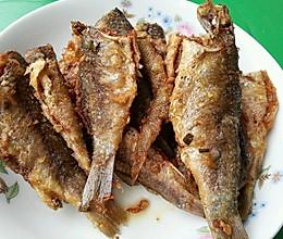 乐乐自家菜---干炸小鱼的做法