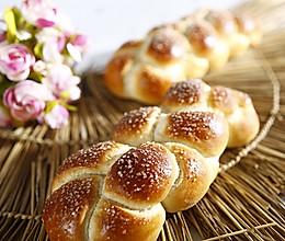 水果辫子面包的做法
