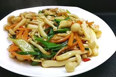 混合菌菇小炒(白玉菇蟹味菇)