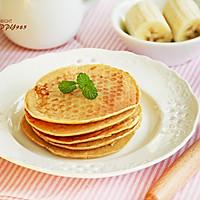 #柏翠辅食节-辅食添加#香蕉小松饼