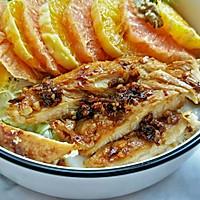 #西餐#橙柚蒜香鸡胸肉沙拉的做法图解9