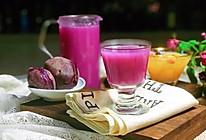 #精品菜谱挑战赛#自带美颜的紫薯百合银耳露的做法