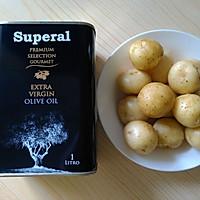 橄榄油香煎小土豆的做法图解1