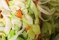 利口洋白菜胡萝卜咸菜的做法