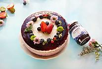 蓝莓冻芝士蛋糕-丘比果酱的做法