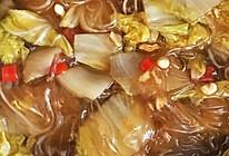 酸辣白菜炖粉条的做法