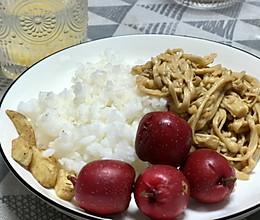蛋黄焗金针菇盖饭的做法