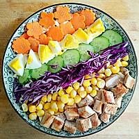 彩虹沙拉――增肌减脂两不误的健身餐的做法图解12