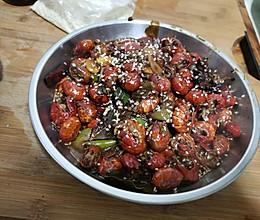 喝酒小菜 炒虾尾的做法