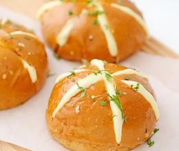 蒜香奶酪包的做法
