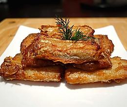 香酥带鱼(附青豆烧带鱼方法)的做法