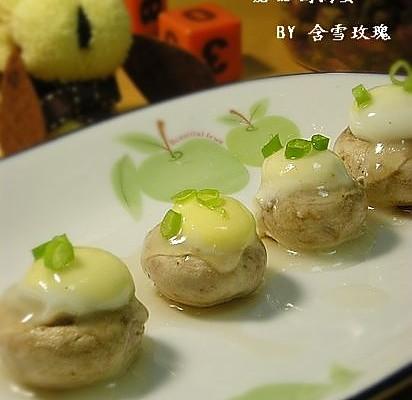 蘑菇鹌鹑蛋的做法