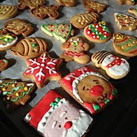 无黄油健康早餐饼干 圣诞糖霜饼干的做法图解1