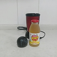 自制健康减肥饮:黑布林果醋饮的做法图解1
