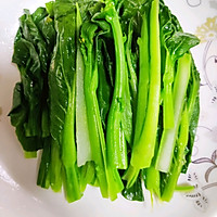 白灼菜心(万能白灼方法)正宗粤菜口味的做法图解3