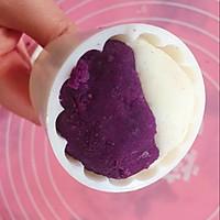紫薯山药糕的做法图解10