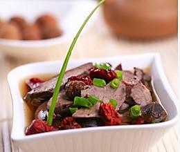 爱心美食:猪心红枣汤的做法