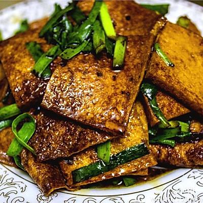 红烧千叶豆腐— —豆腐也可以做得有滋有味