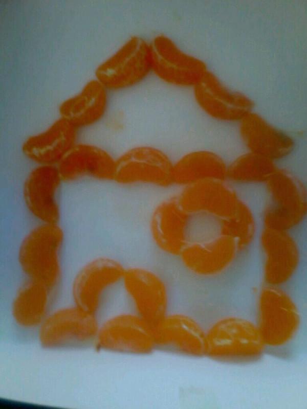 橘子拼盘的做法