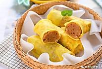 鲜嫩蛋肠 宝宝辅食食谱的做法