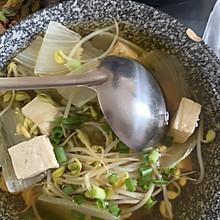 减脂简易豆芽汤