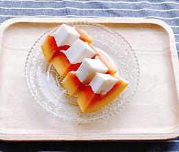 夏日清凉甜品-木瓜奶冻的做法