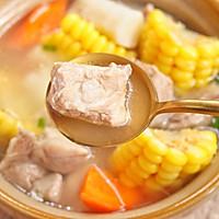 山药玉米猪骨汤的做法图解10