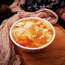 #今天吃什么#饺子皮面片汤